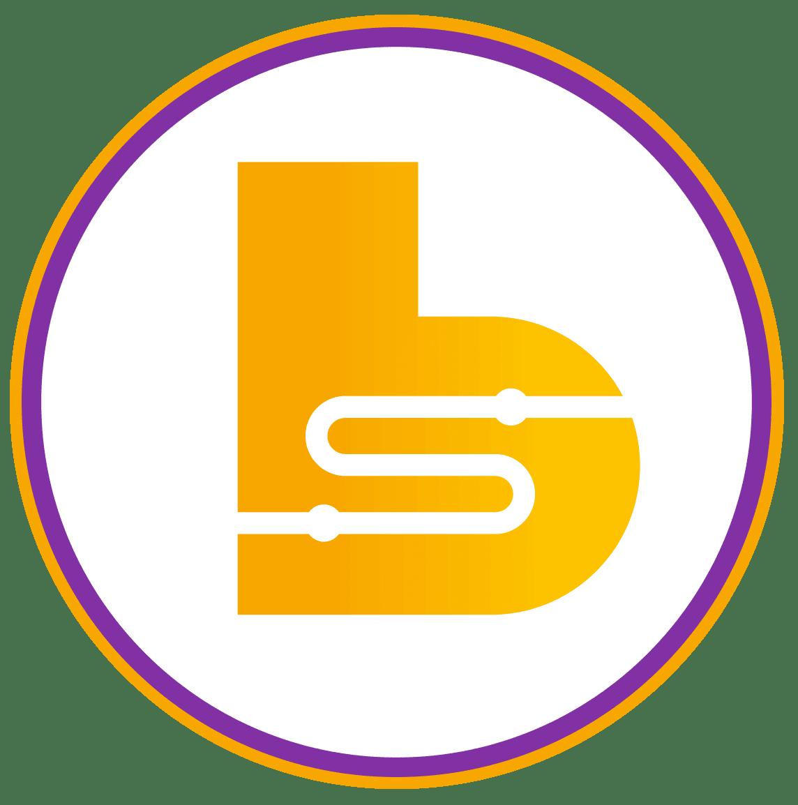 B Circle Logo with border