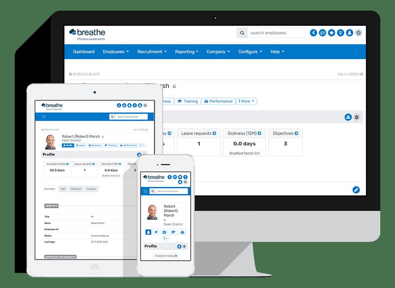 Breathe HR Software
